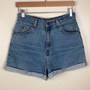 Vintage Levi's High Rise Shorts